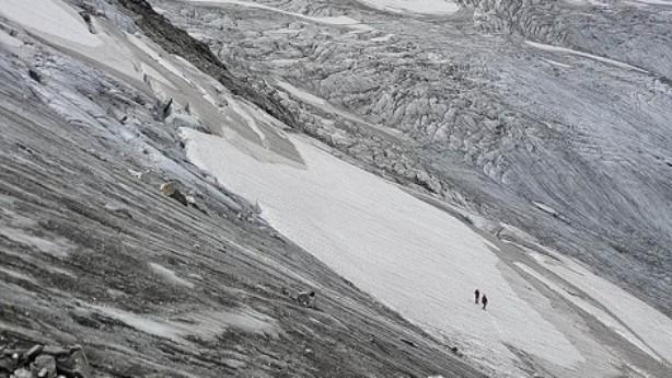 Detalle del glaciar