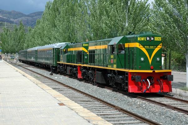Las locomotoras de época son realmente peculiares
