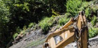 La carretera de Arcalís tiene ya terminados 2,7 km
