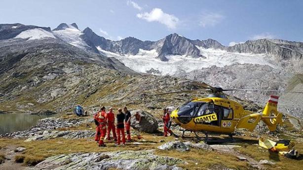 Cinco alpinistas mueren el los Alpes austriacos