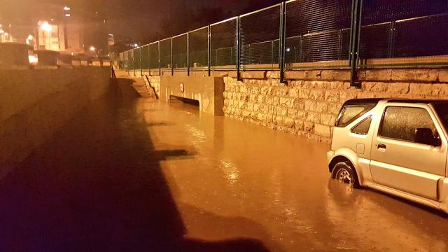El río Turia también se desbordó
