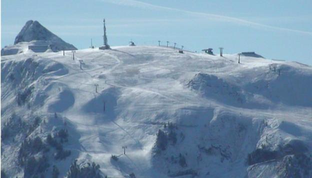 Baqueira Beret vista desde la cota 1.800