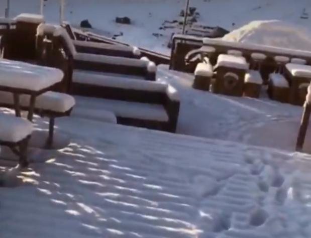 Así ha amanecido Ordino Arcalís después de la nieve de las dos últimas jornadas
