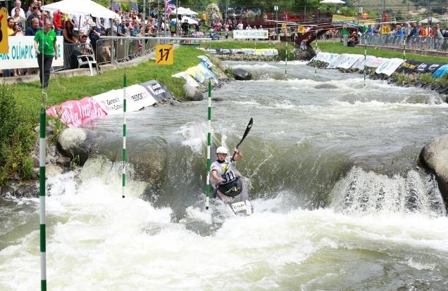 Las aguas bravas del Segre, escenario del mejor kaiak