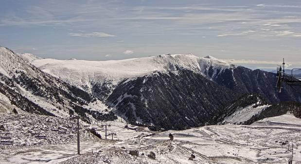 El Pirineo más oriental también ha recibido un buen grueso