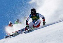 La esquiadora ha estado entrenado en Chile durante el mes de septiembre