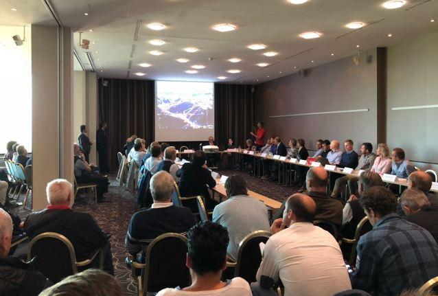 Una imagen del meeting anual de Zurich