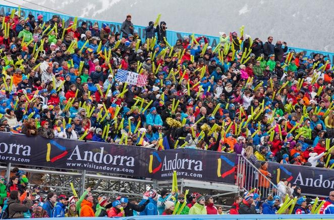 La Copa del Mundo del 2016 de la estación de Andorra fue todo un éxito