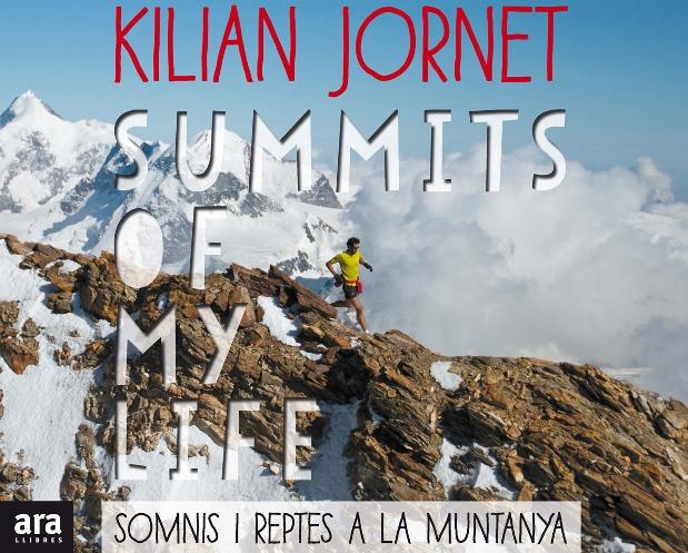 Carátula del libro de Kilian Jornet