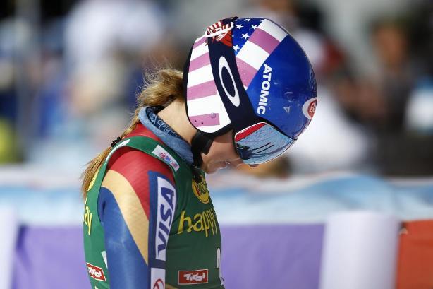 Mikaela Shiffrin pagó caro su error en la segunda manga que le costó el podio o una hipotética victoria