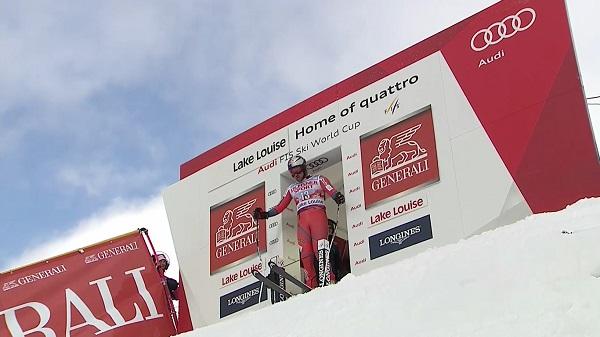 Tras casi un año sin competir, Aksel Lund Svindal ha vuelto para acabar en el podio