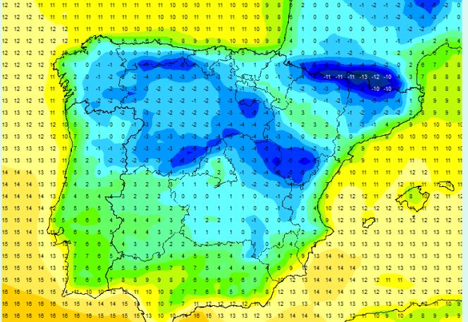 El frío se irá intensificando a lo largo de la semana