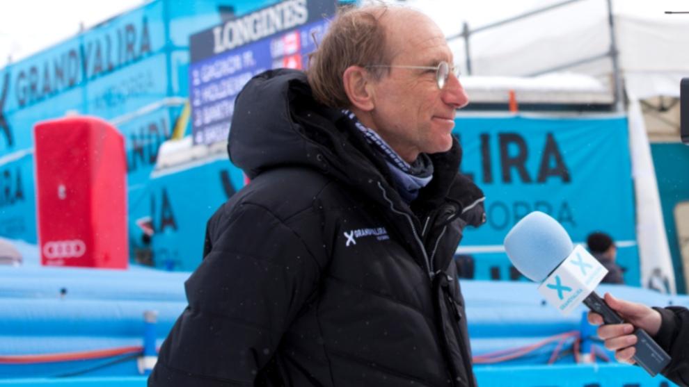 Conrad Blanch es la cara visible del equipo organizador de competiciones en Grandvalira