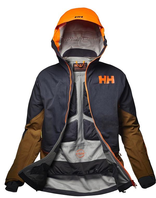La Elevation Shell es una chaqueta ideal para los freeriders por su transpirabilidad