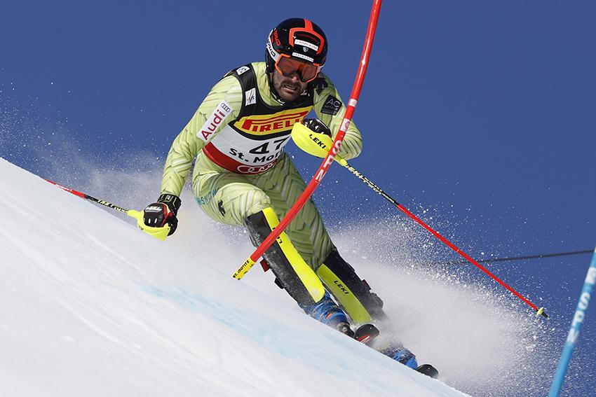 Quim Salarich es una de las opciones de futuro del esquí alpino español FOTO: Pentaphoto