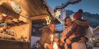 La Navidad se vive en Austria con una especial intensidad y proliferan mercadillos, conciertos y multitud de eventos FOTO: Salzburger Land Tourismus