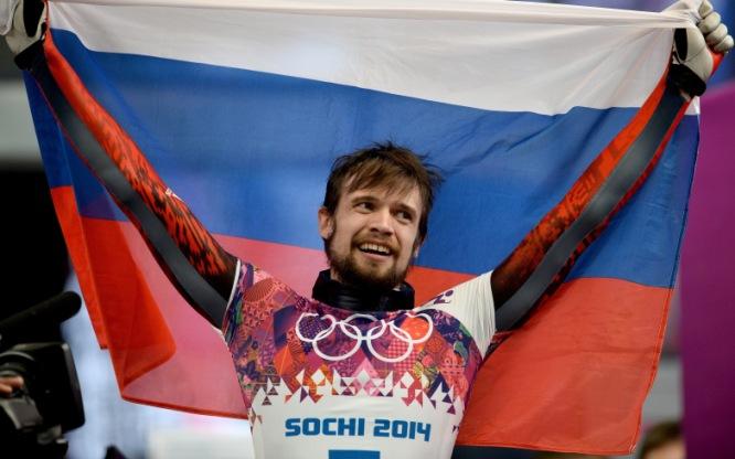 Aleksandr Tretiakov, campeón olímpico de skeleton en Sochi