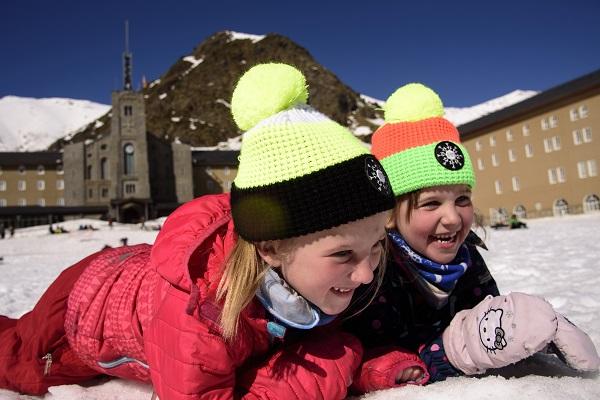Vall de Núria potencia las actividades lúdicas para seguir siendo una estación familiar FOTO: Oriol Molas