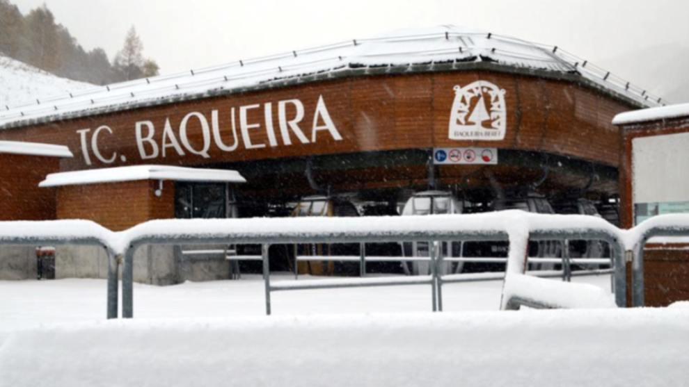 todo está a punto en Baqueira para iniciar la nueva temporada