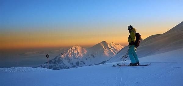 Las vistas panorámicas de las estaciones austriacas son un regalo para los sentidos y una garantía de calidad para los esquiadores FOTO: Mellau Tourismus