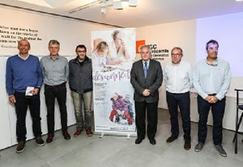 Enric Ticó y los directores de las cinco estaciones