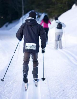 Esquí de fondo en la estación pallaresa