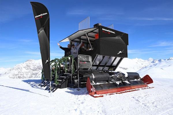 Formigueres es la primera estación francesa que ha instalado un' foodtruck'. Está situado a dos mil metros de altitud