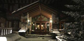 El centro invernal se asemeja a una postal navideña