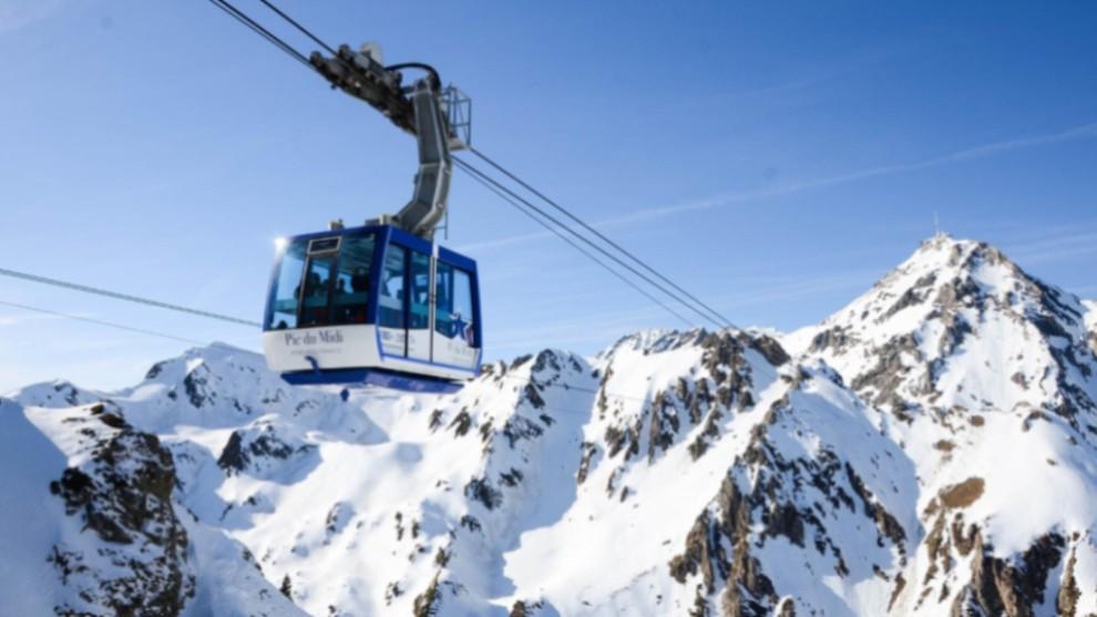 Las pistas francesas destacan por la gran cantidad de nieve