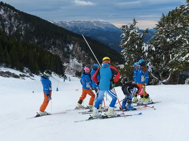 Los esquiadores han disfrutado de un óptimo fin de semana