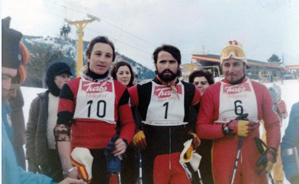 Paquito Fernández Ocho en la carrera en 1972