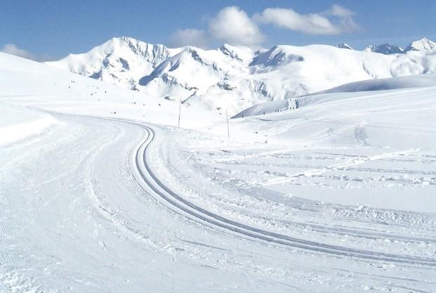 Hautacam ofrece un gran espectáculo de nieve