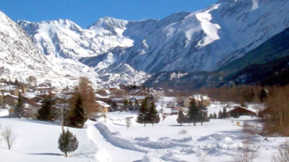 La estación de Porté destaca por la gran cantidad de nieve toda la temporada