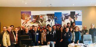 Responsables de los centros de formación de técnicos deportivos, en la reunión de la RFEDI del pasado miércoles FOTO: RFEDI