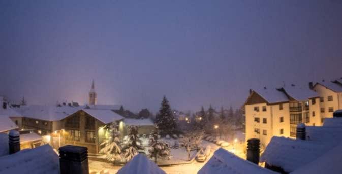 Esterri d'Aneu donde sigue nevando con ganas