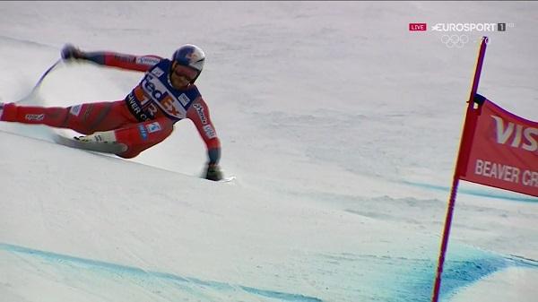 Un error ha apartado del podio a Aksel Lund Svindal, que ha finalizado sexto