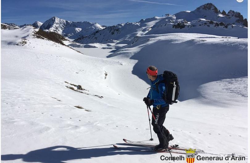El Conselh Generau d'Ara pide prudencia a los esquiadores