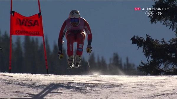 Kjetil Jansrud no ha firmado un buen descenso pero mantiene el liderato de la general por sólo cuatro puntos respecto a Svindal