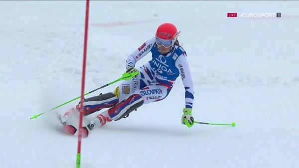 Petra Vhlova ha hecho una mala segunda manga y ha perdido toda opción del podio para acabar quinta