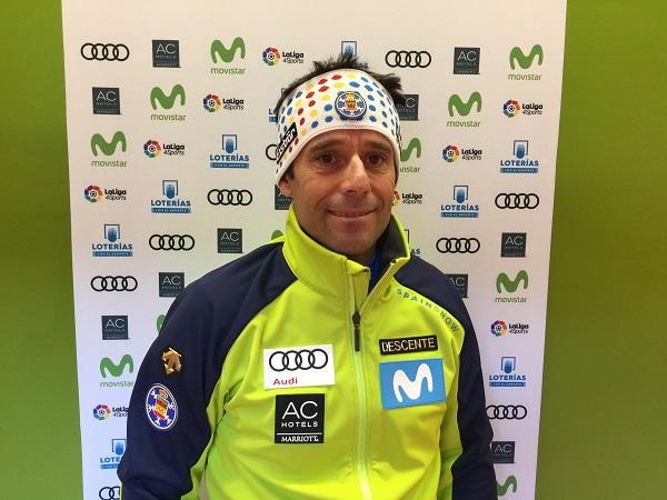 Lluis Breitfuss, director deportivo de la RFEDI, insiste en la necesidad de forjar técnicos deportivos que sean auténticos líderes FOTO: RFEDI