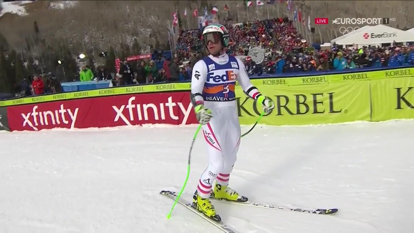 El noruego sabía de sus posibilidades y a quien más temía era a Kjetil Jansrud. Finalmente ha celebrado su primera victoria en la Copa del Mundo
