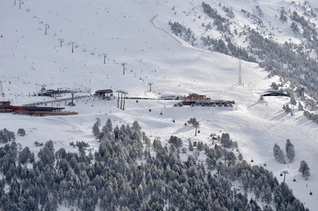 La estación aranesa destaca por la gran cantidad de nieve