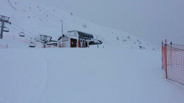 Boí Taüll Resort también ha comenzado a recibir un buen paquete de nieve