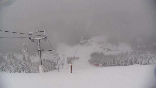Espot se aproxima al medio metro de nieve nueva