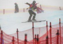 La nieve, el viento y la mala visibilidad has sido los responsables de la cancelación del Súper G de St. Moritz