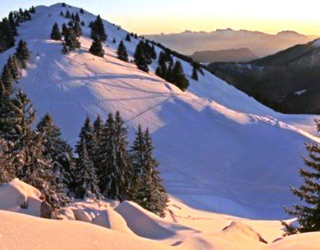 Imagen de la región alpina de Chartreuse
