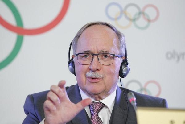 Samuel Schmid, presidente de la comisión disciplinaria del COI FOTO: Reuters