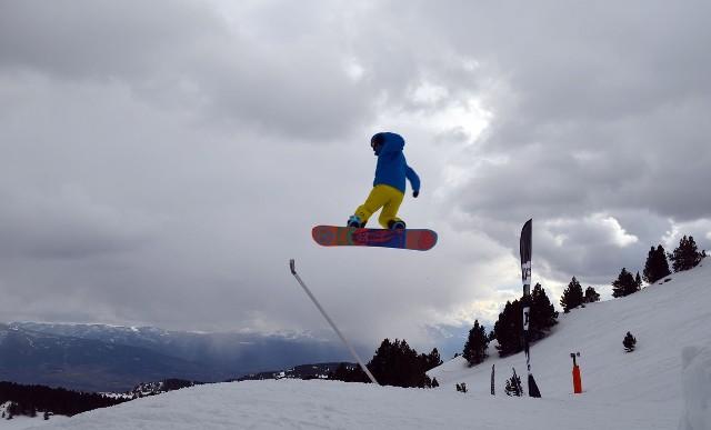 Font Romeu ha abierto la Copa del Mundo de slopestyle
