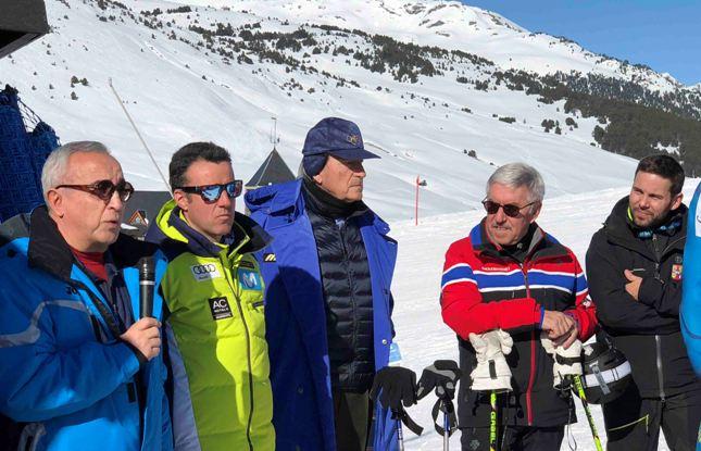 La visita del Comité Ejecutivo del Comité Olímpico Español ha comenzado en las pistas de Baqueira