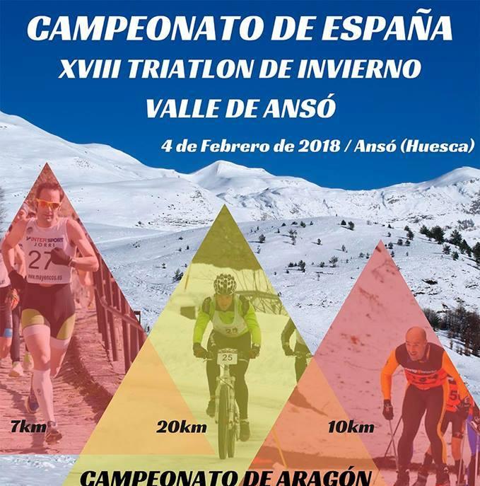 Junto a la carrera a pie y la bicicleta, habrá 10 Km de esquí de fondo